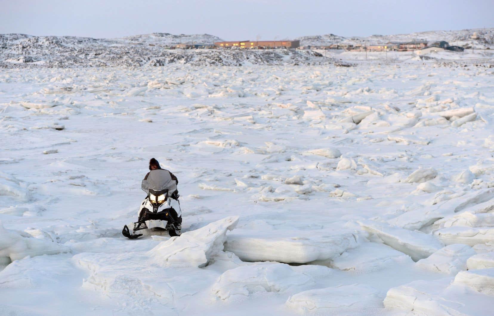 Les impacts des changements climatiques sont bien réels au Nunavut.