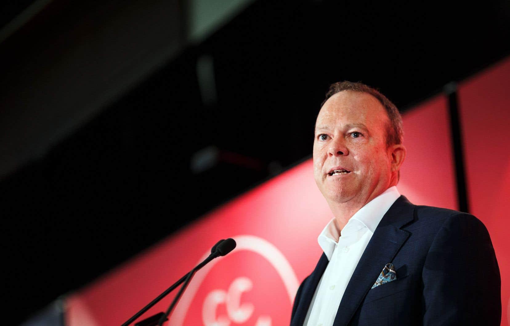 Michel Bissonnette souhaite un «changement de paradigme important» pour Tou.tv, vue comme une plateforme pour les contenus radio-canadiens.