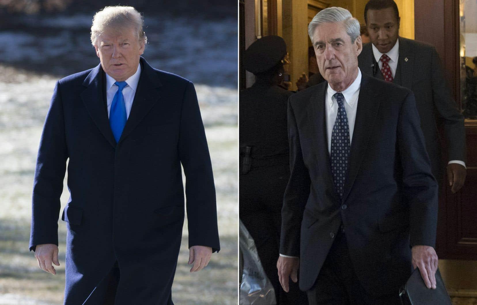 Robert Mueller a pour mission de déterminer les responsables et complices des ingérences russes dans la campagne présidentielle, et une éventuelle collusion entre l'équipe de campagne de Donald Trump et la Russie.