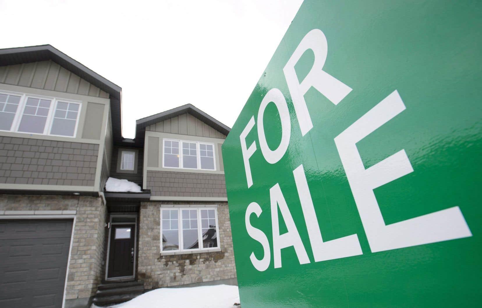 Le prix moyen national des habitations vendues en février s'est établi à un peu plus de 494 000 $.