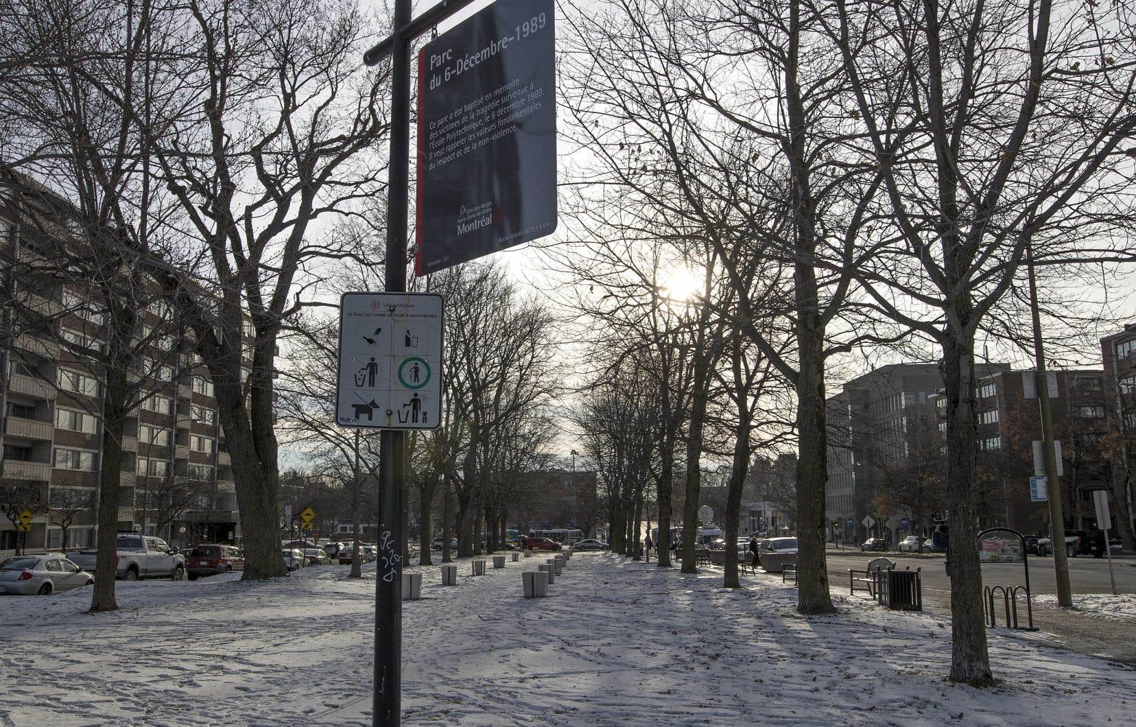 «Je pense que le juge a été troublé par le recours au symbole de Marc Lépine et Polytechnique», a réagiSandrine Ricci. Un parc a été baptisé Parc du 6-décembre-1989 en hommage aux victimes de la tragédie survenue à Polytechnique.