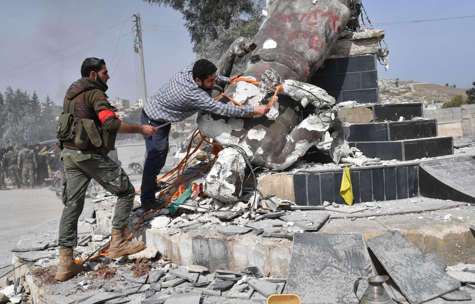 Erdogan affirme que le centre d'Afrine est sous contrôle — Syrie