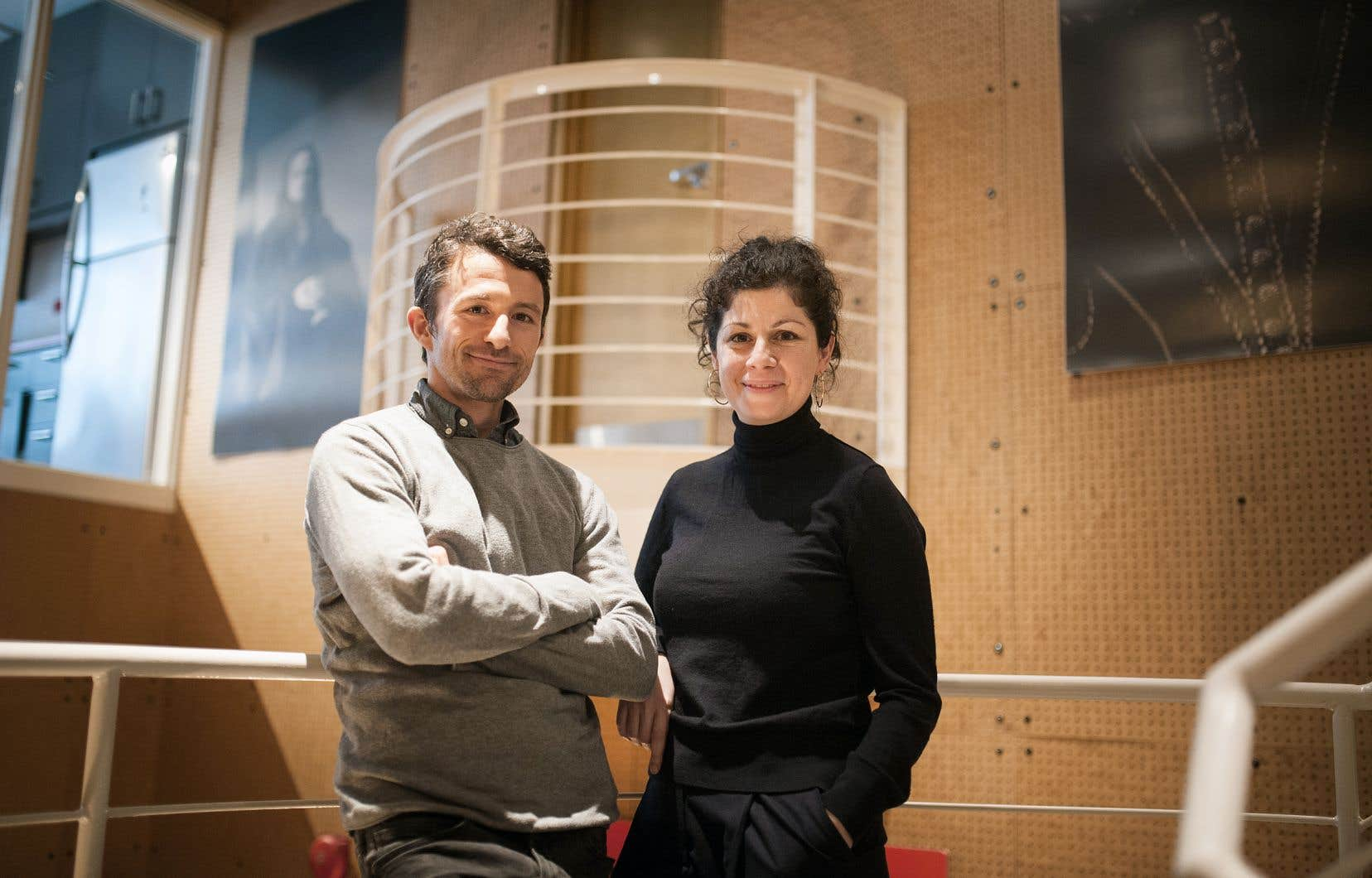 Étienne Lepage et Catherine Vidal n'en sont pas à leur première collaboration.