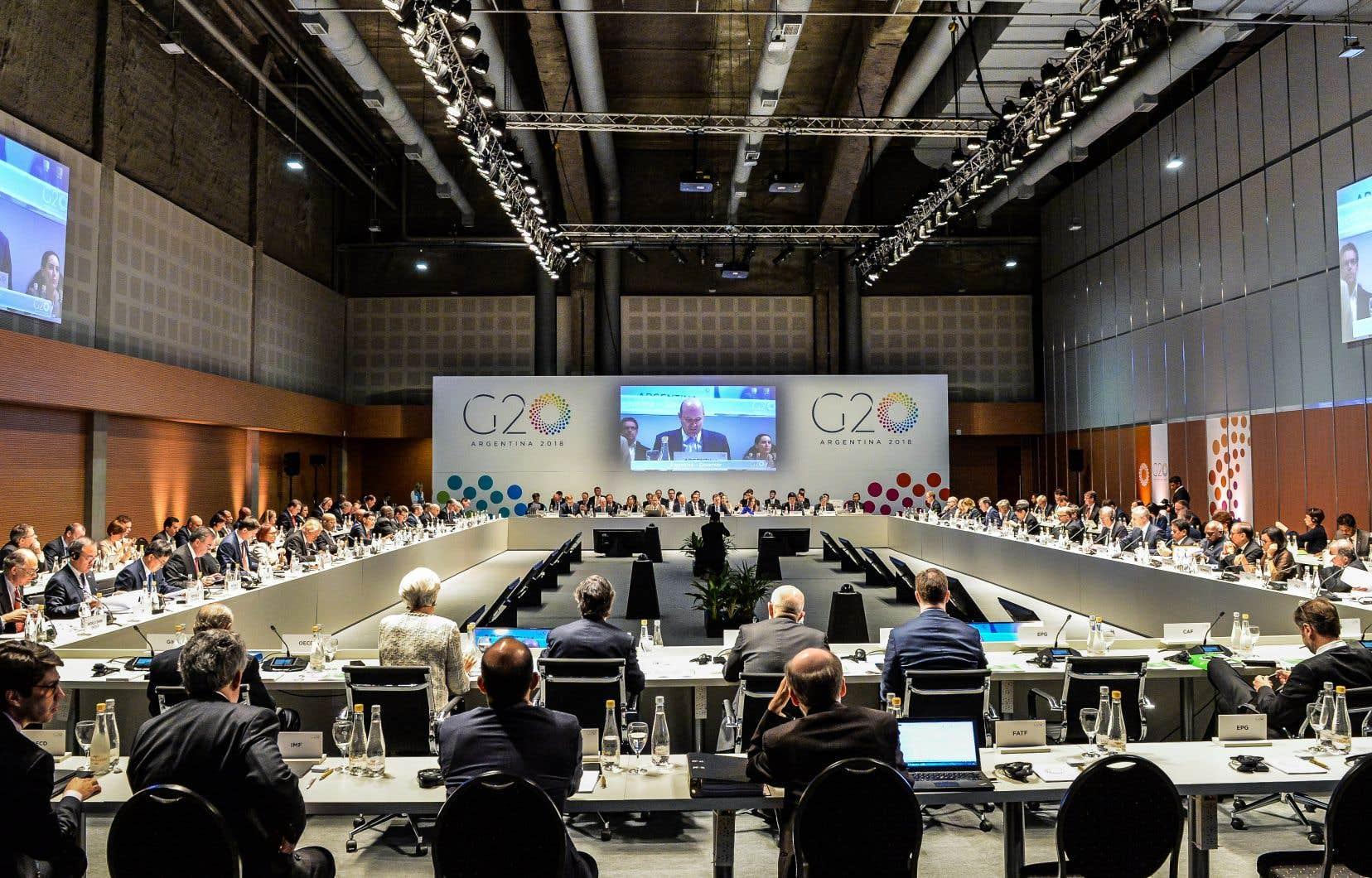 Ouverture du G20 Finances, ce lundi à Buenos Aires