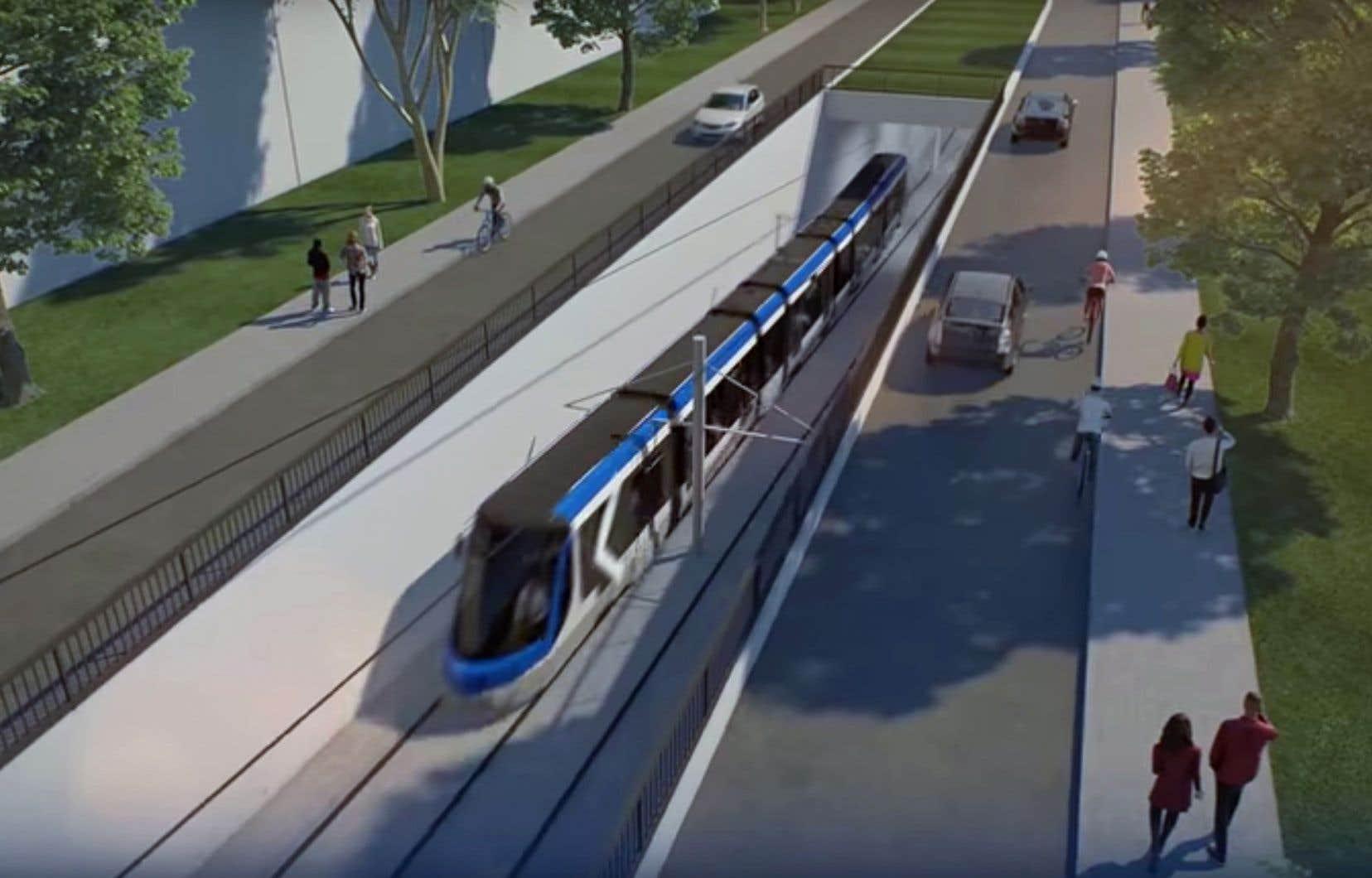 Le tramway a été pensé pour tolérer les caprices de l'hiver, notamment parce qu'il sera alimenté par des fils électriques aériens.