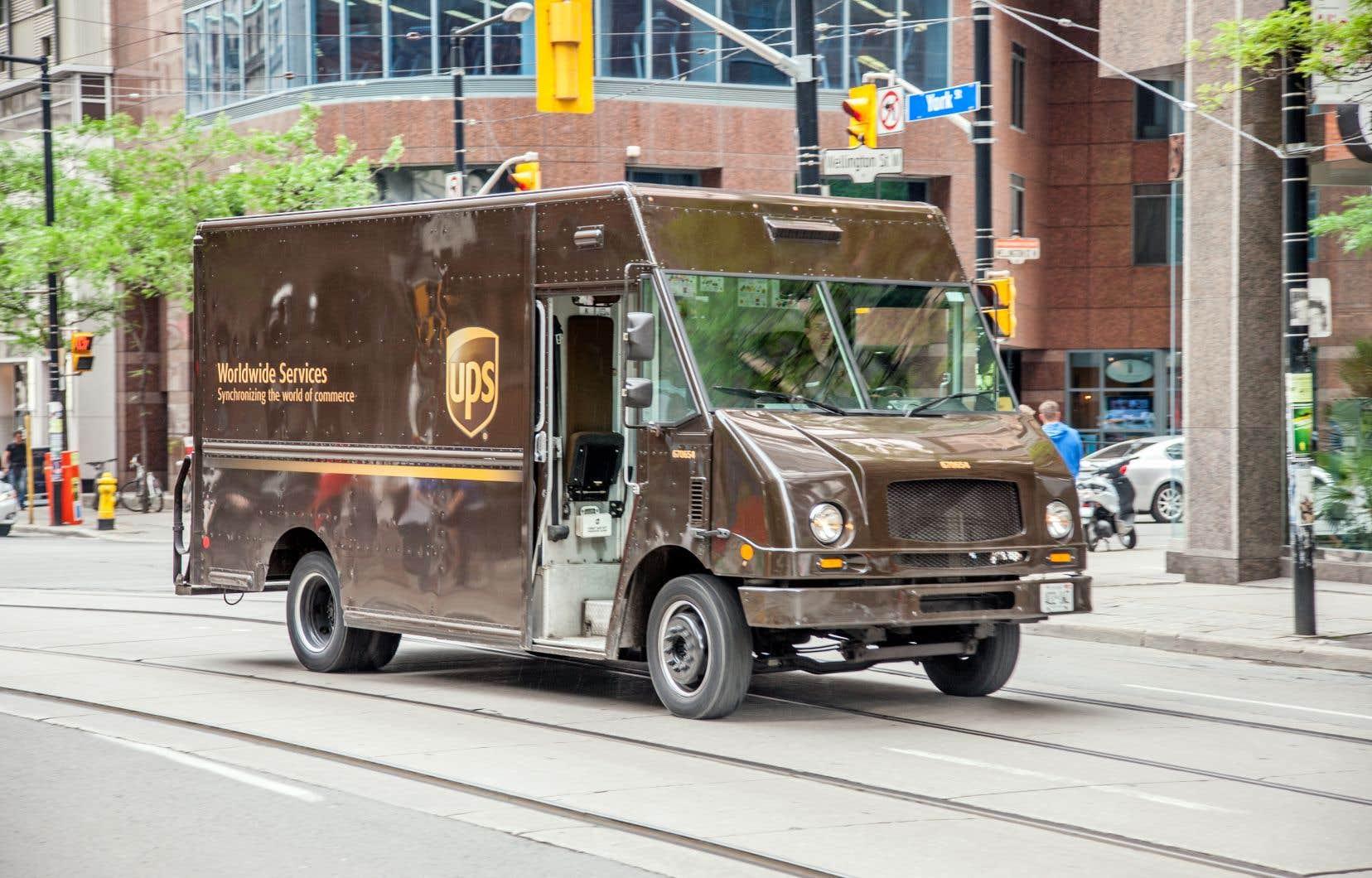 UPS emploie plus de 12000 personnes au Canada.