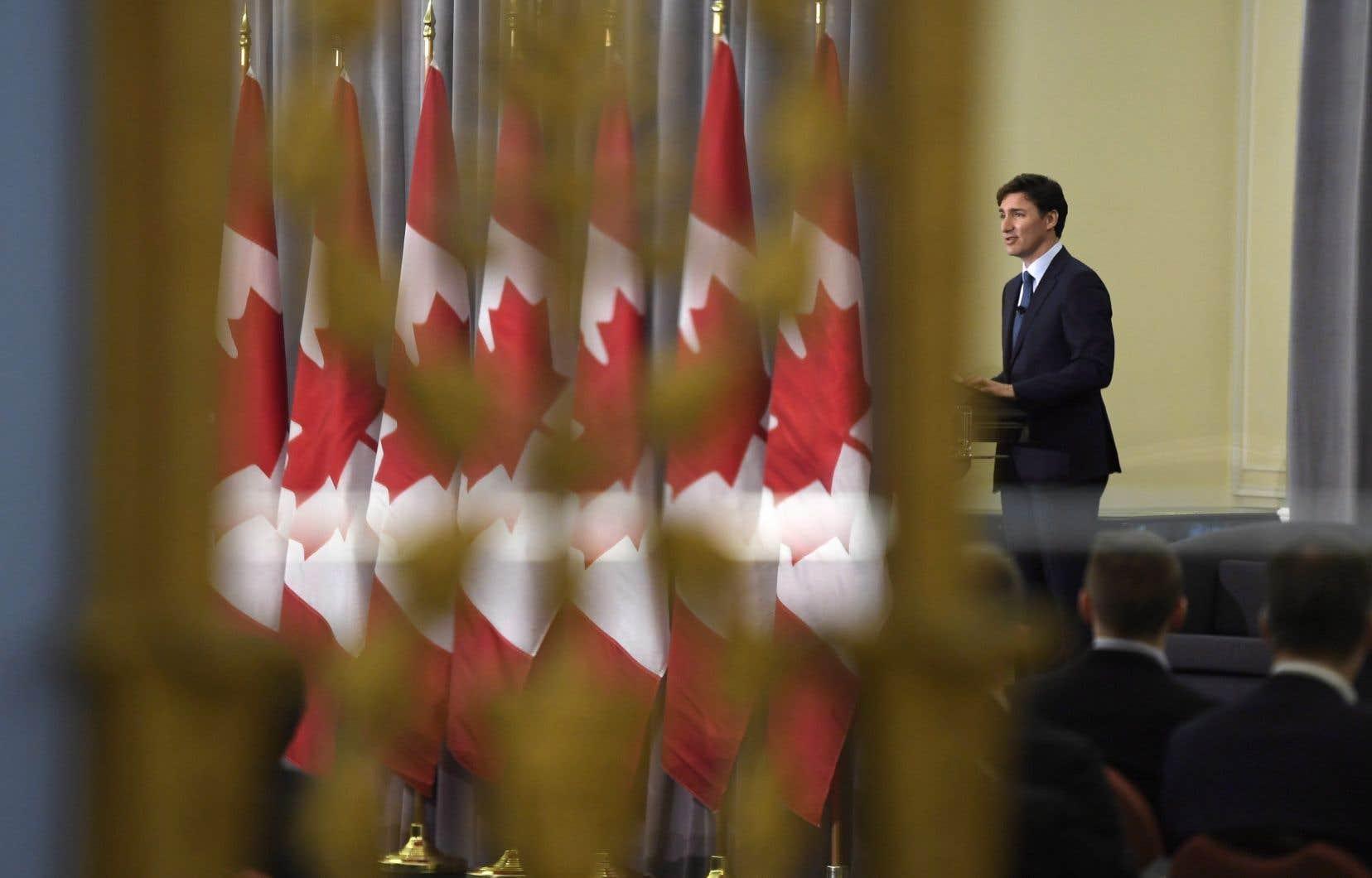 Le premier ministre Justin Trudeau, lundi, à Ottawa