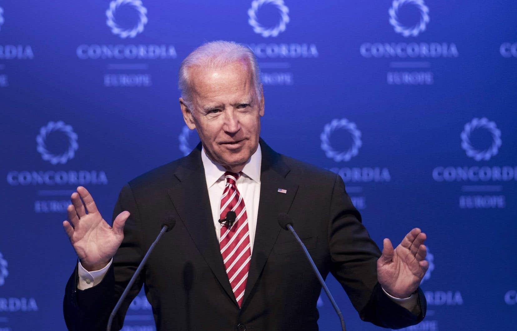 Joe Biden n'a pas exclu une candidature présidentielle en 2020.
