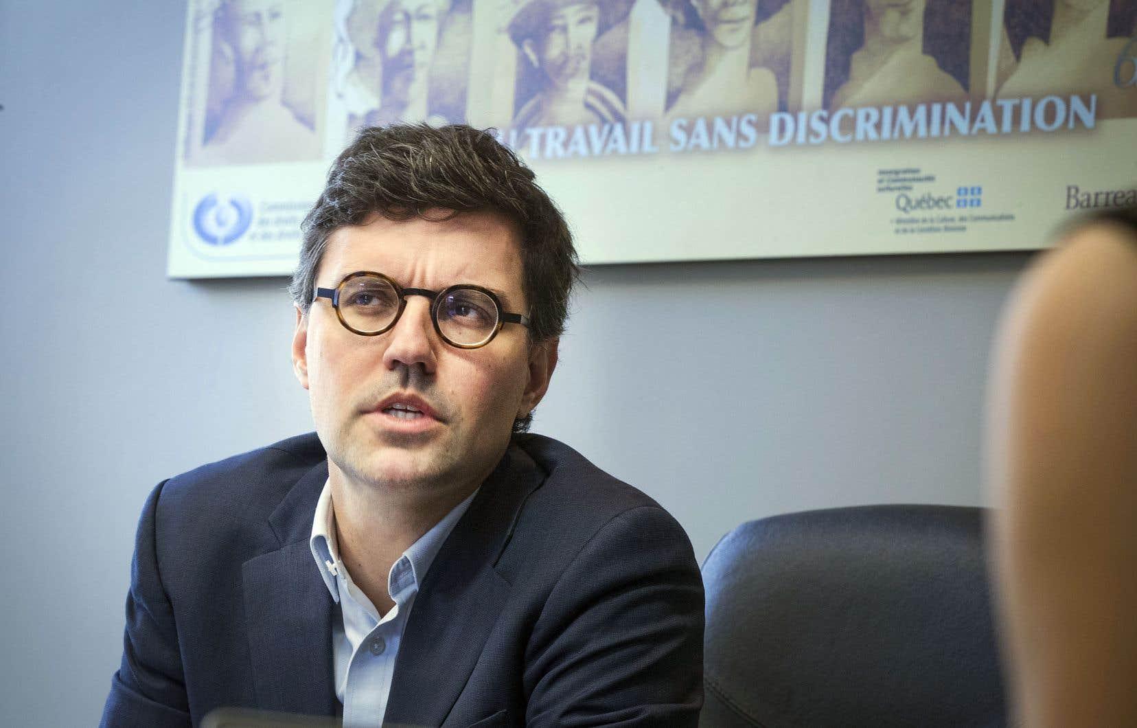 Philippe-André Tessier, nouveau président par intérim de la CDPDJ, reconnaît que la communication avec le public est l'un des défis pour que la Commission regagne sa confiance.