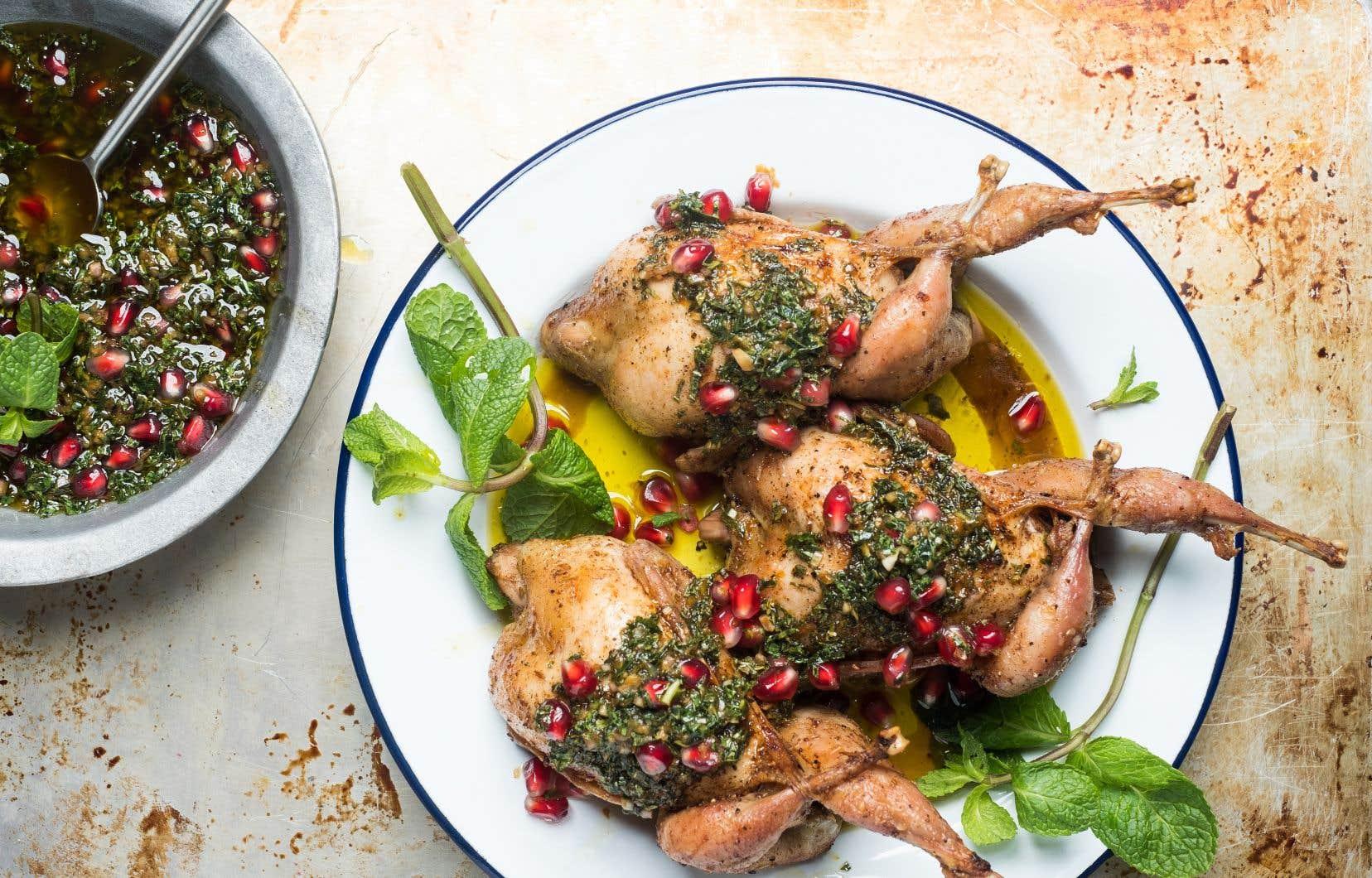 Servir avec une salade, du quinoa ou encore du riz sauvage.