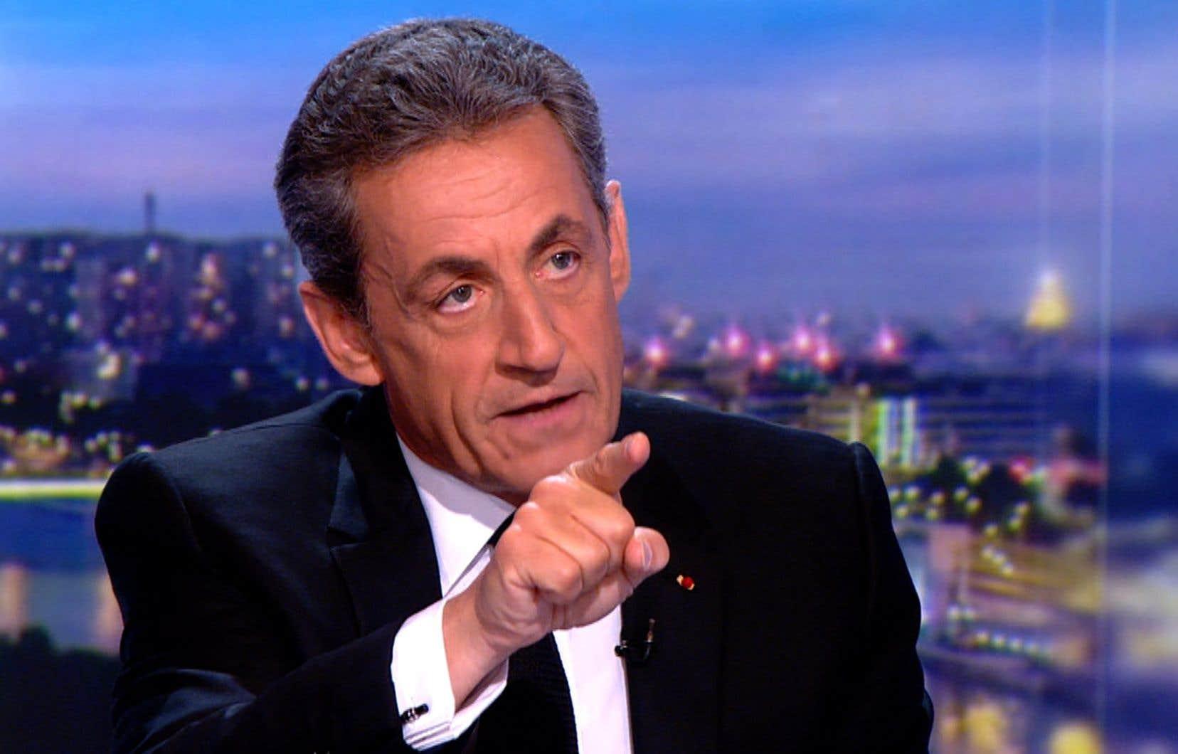 Nicolas Sarkozy mis en examen: