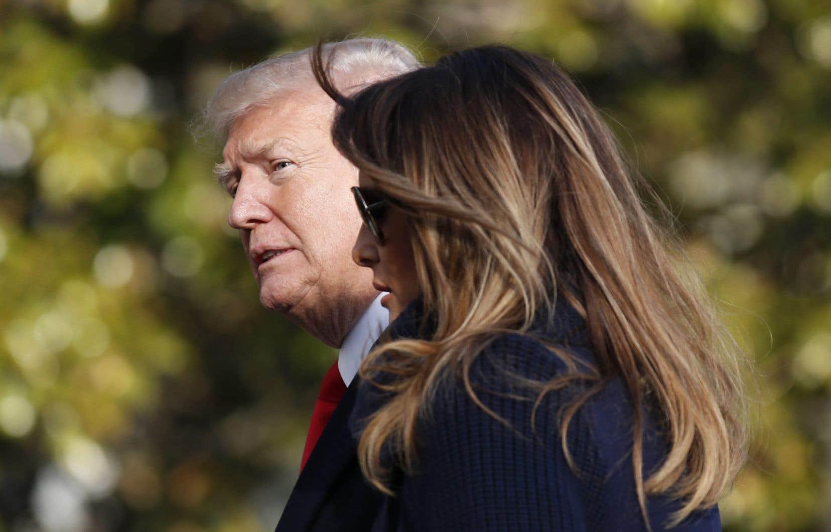 Après l'actrice X, il veut faire taire une playmate — Donald Trump