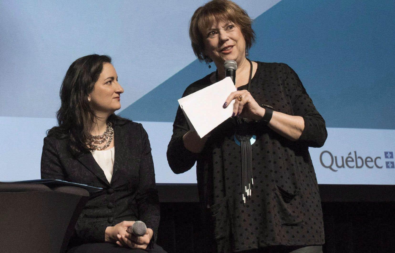 La somme annoncée par les ministres Marie Montpetit et Hélène David fait partie de l'enveloppe de 25millions de dollars que le gouvernement Couillard avait promise en décembre dernier pour s'attaquer en général au phénomène de l'inconduite sexuelle.