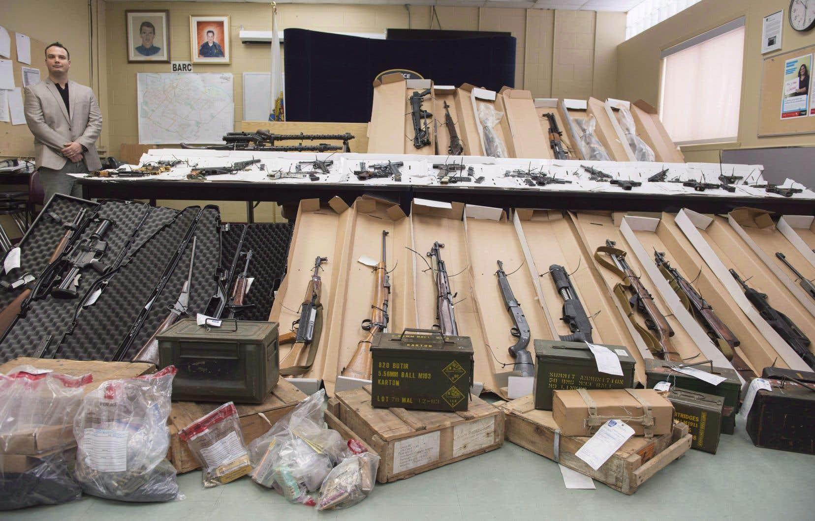 L'émergence du «darknet» représente un nouveau défi pour les autorités qui tentent d'endiguer le trafic d'armes.