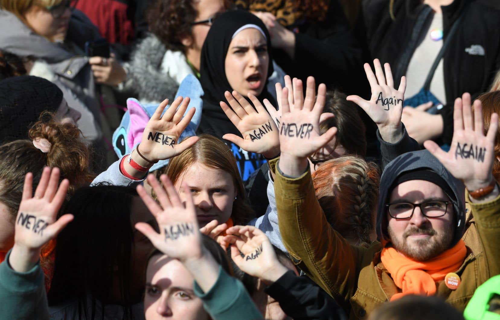 Lors de la journée historique de samedi, plus d'un million de personnes sont descendues dans la rue un peu partout aux États-Unis.