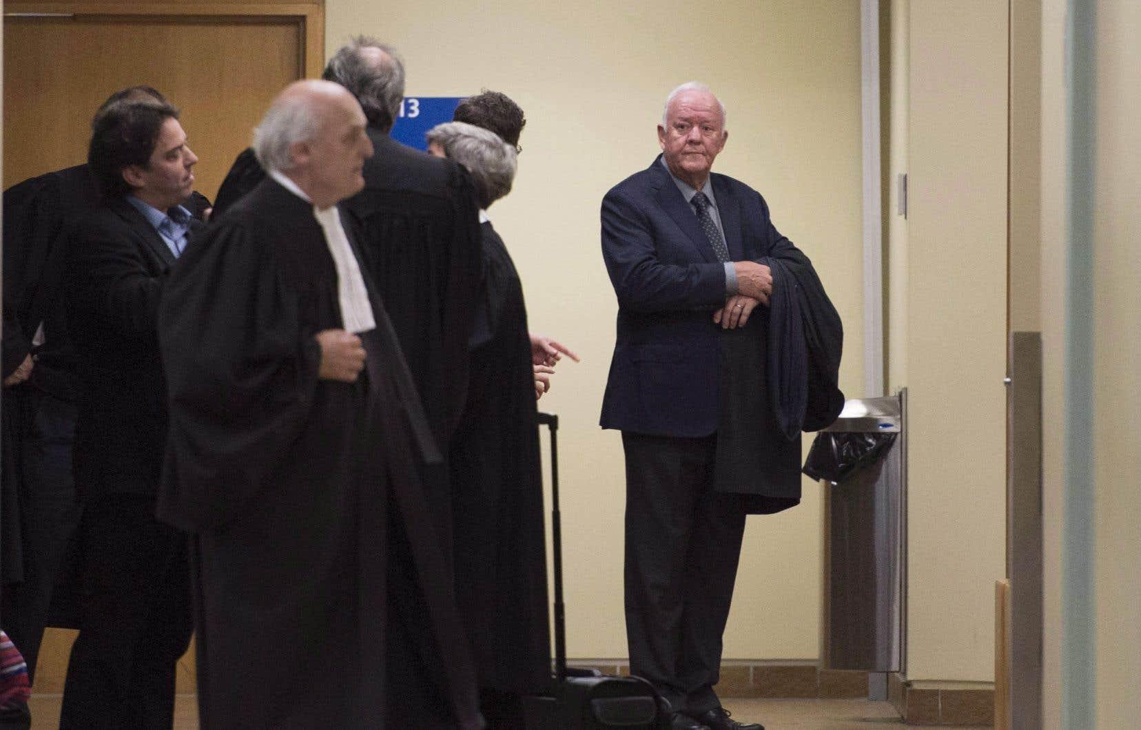 Marc-Yvan Côté (sur notre photo), Nathalie Normandeau et leurs cinq coaccusés ont été arrêtés en mars 2016.