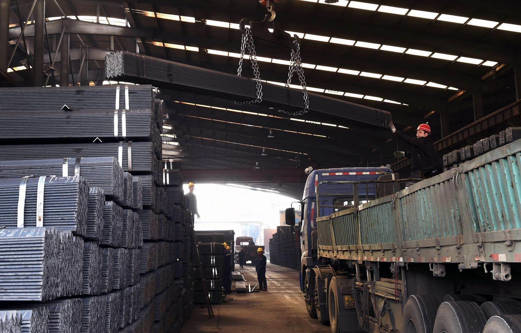Le Canada s'est récemment fait l'écho des États-Unis en accusant la Chine de faire du «dumping» sur le marché mondial de l'aluminium et de l'acier.