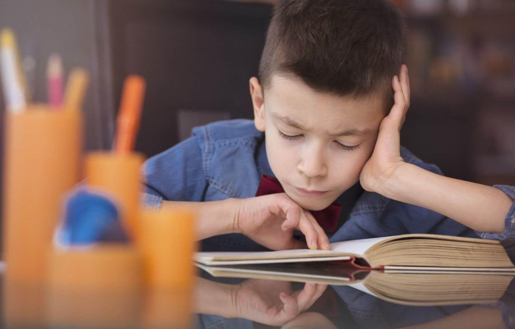 Les élèves doivent se rabattre la plupart du temps sur les livres de papier, alors que pour certaines clientèles particulières, le livre numérique serait nécessaire.