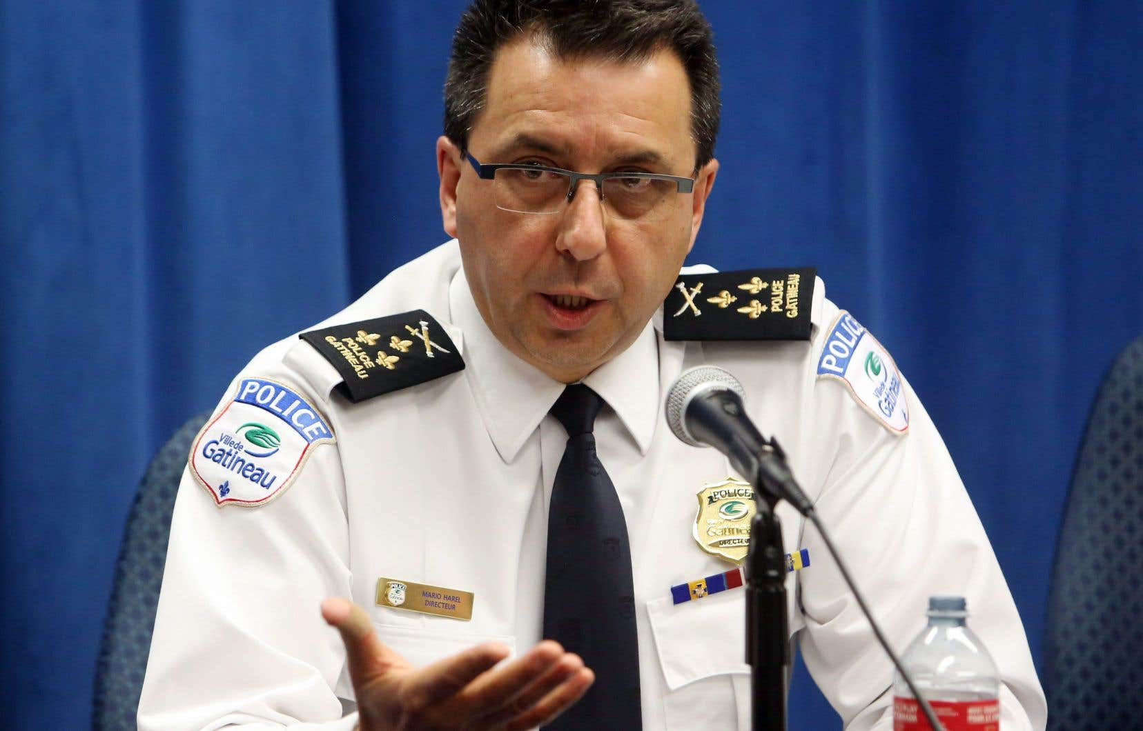 Le directeur du service de police de Gatineau, Mario Harel