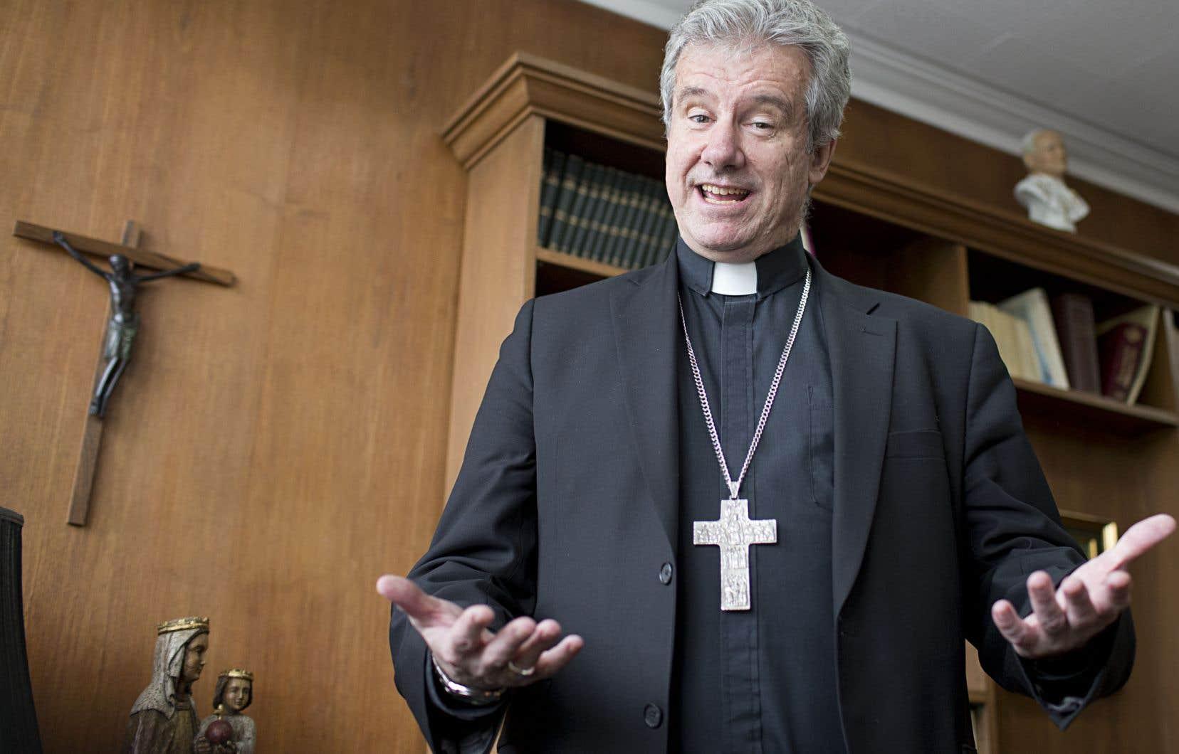 «Le temps de Pâques est un temps pour que la lumière et l'espérance rayonnent, c'est le moment de tendre la main», pense l'archevêque de Montréal, Mgr Christian Lépine.