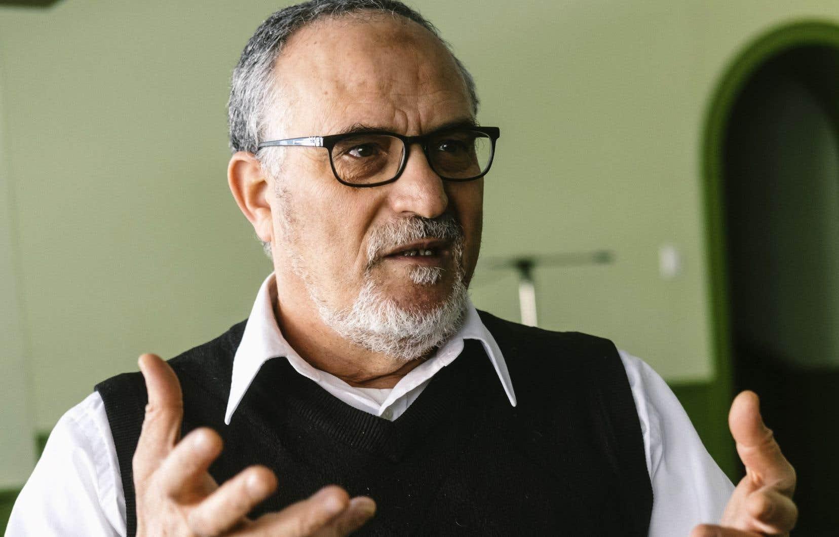 Mohamed Labidi était président du Centre culturel islamique de Québec au moment de l'attentat.