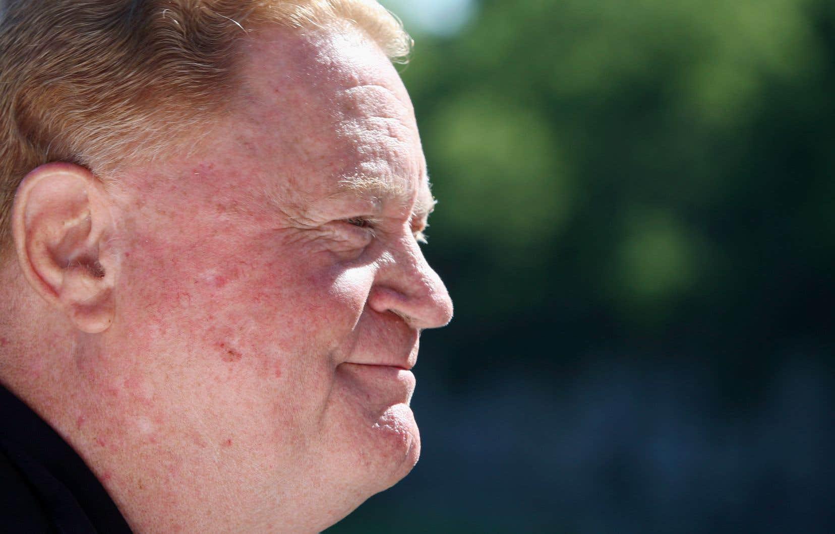 L'ancien joueur vedette des Expos, Daniel «Rusty» Staub, en 2012