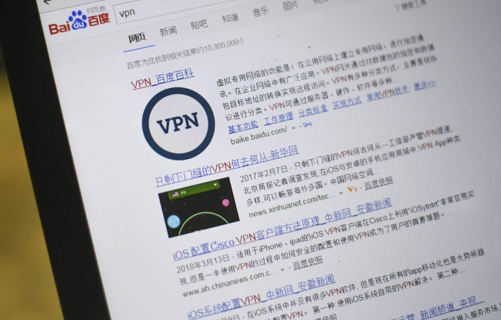 Selon différentes estimations, plusieurs dizaines de millions de personnes recourent aux RPV pour se connecter à des sites ou réseaux sociaux bloqués par les autorités.