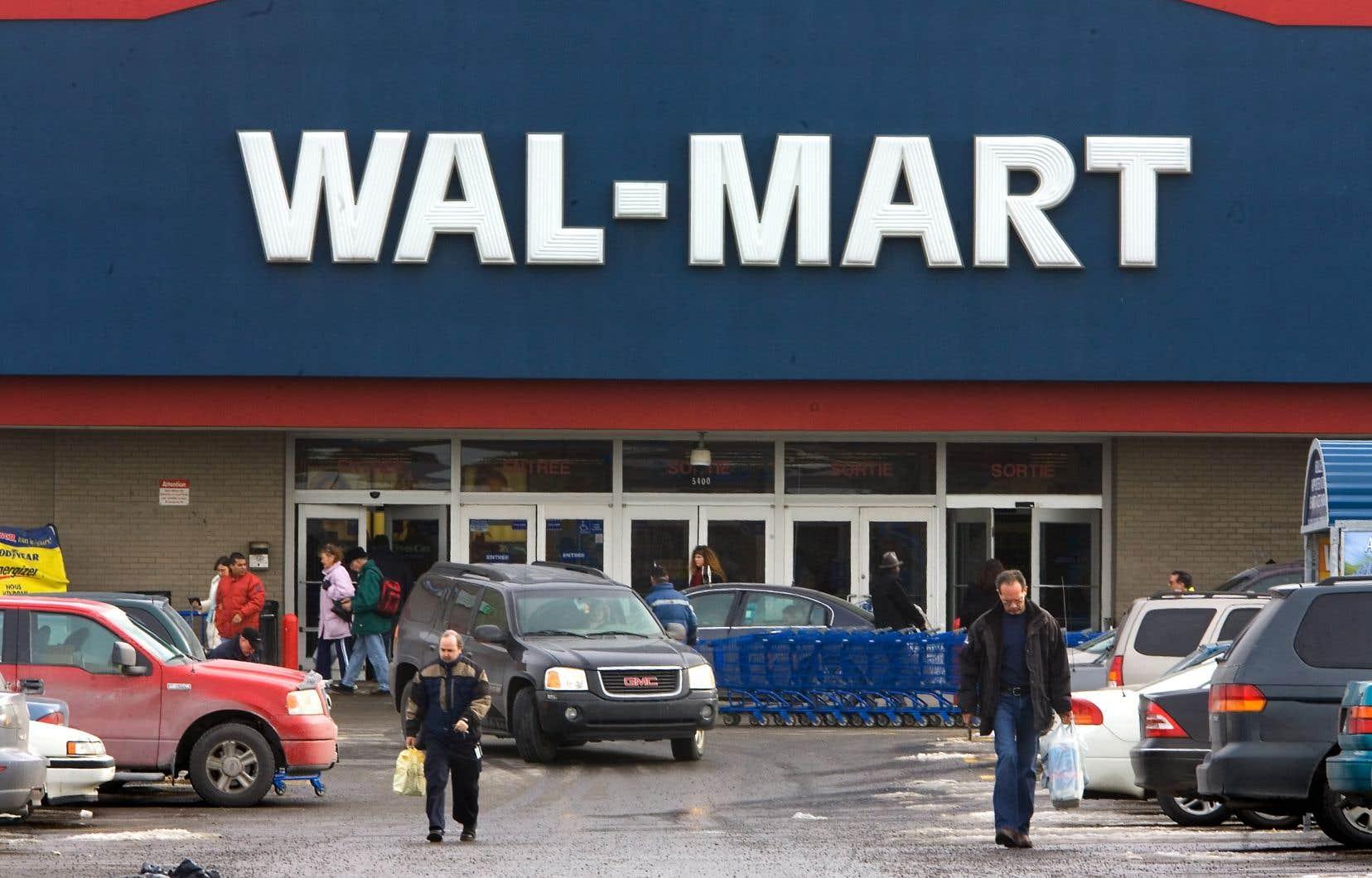Walmart n'a pas voulu confirmer le nombre de succursales où ce programme était en vigueur.
