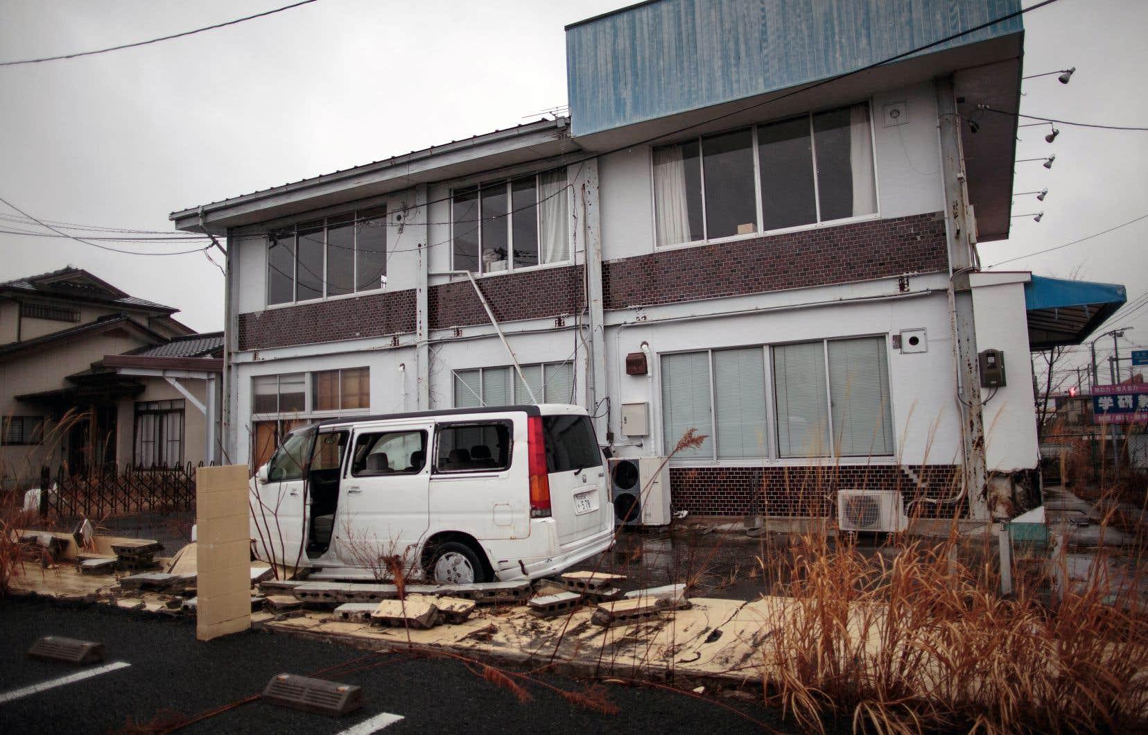 Nissan a inauguré cette semaine une usine à Namie. Dans cette ville ravagée par le tsunami du 11 mars 2011, 80% du territoire reste interdit d'accès.