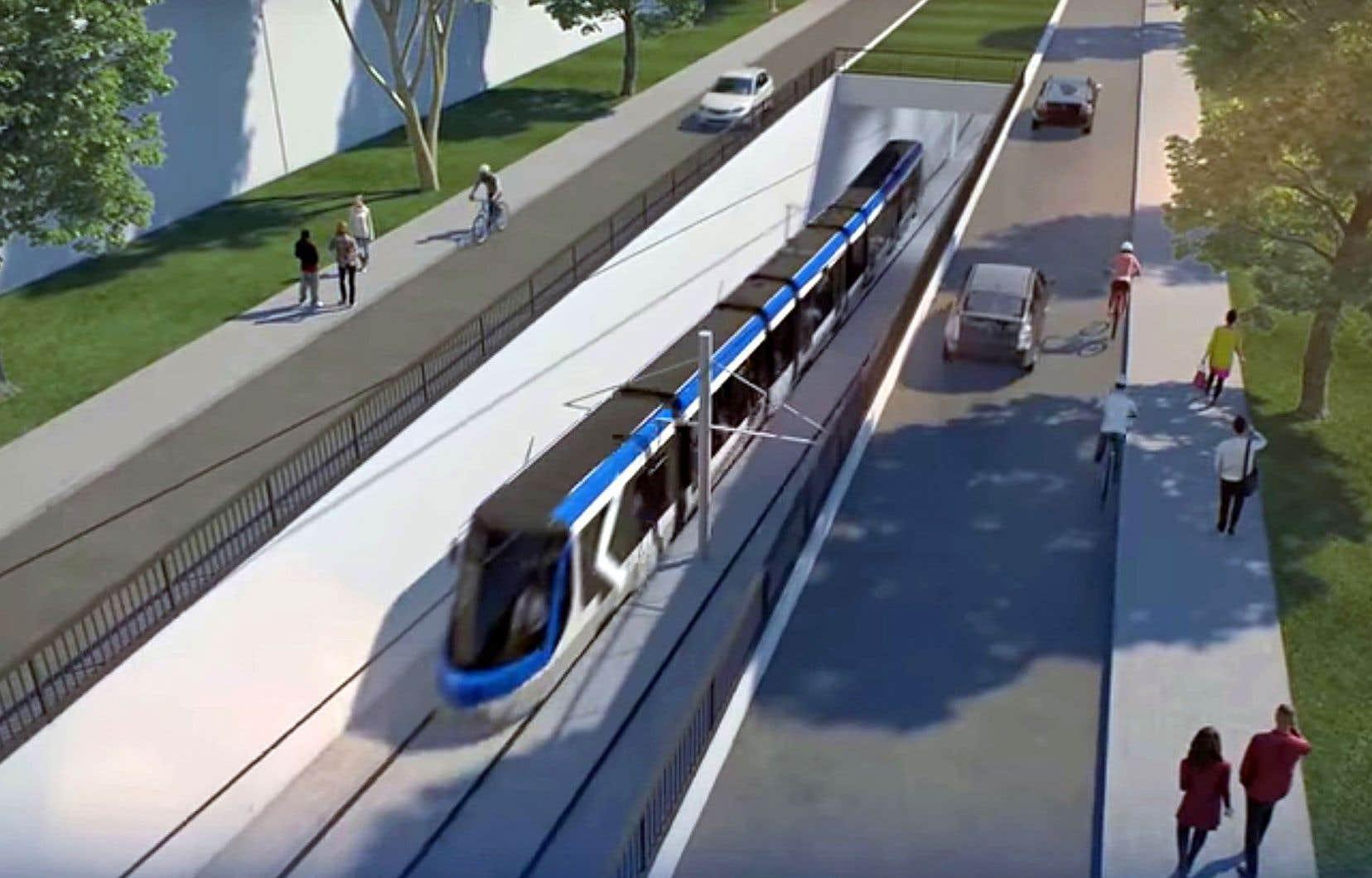 Le succès du futur tramway de Québec repose donc sur sa capacité à concurrencer l'automobile, en faisant migrer les automobilistes de la région de Québec vers le nouveau réseau de transport en commun, croit l'auteur.