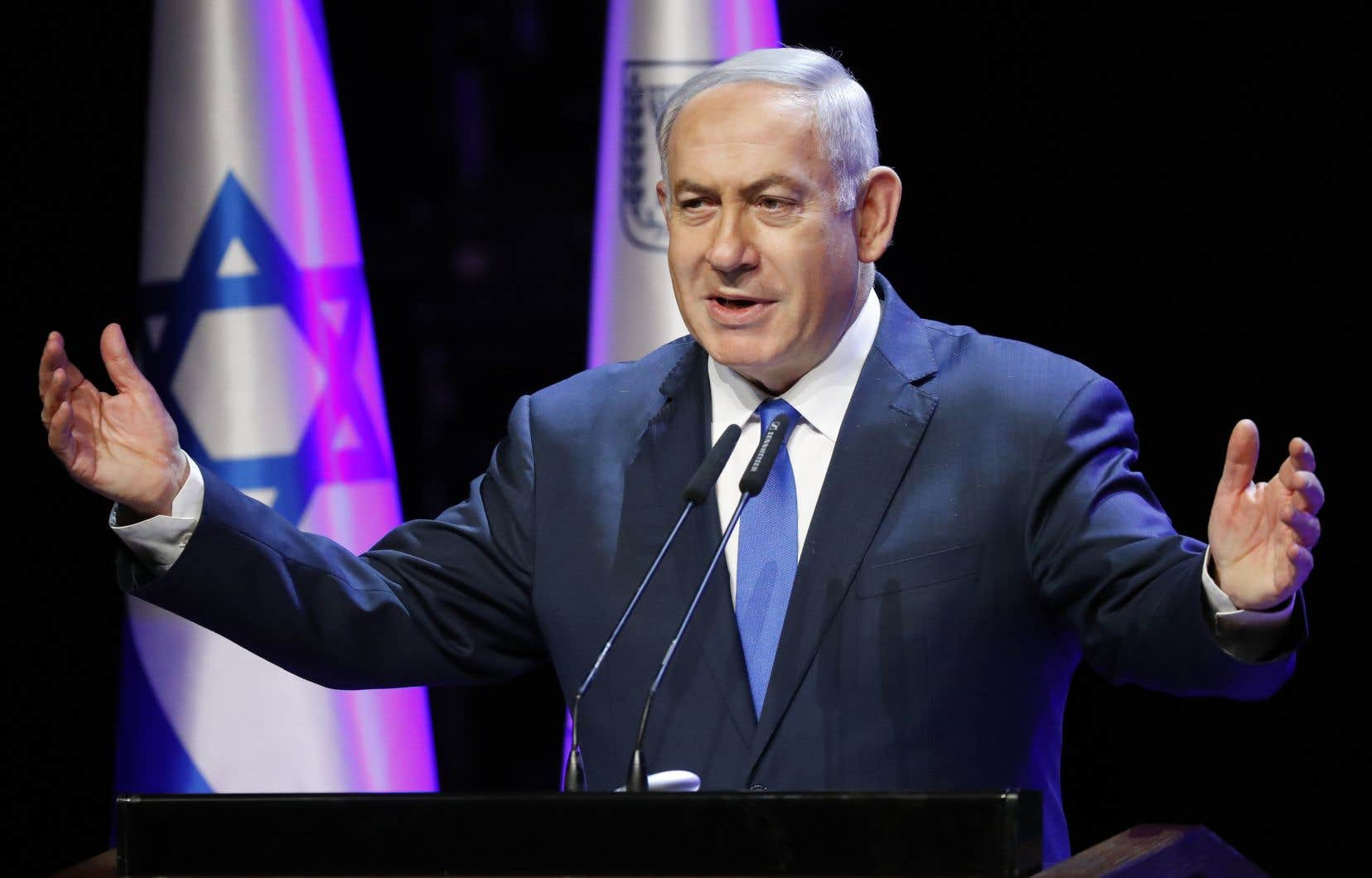Le premier ministre israélien, Benjamin Nétanyahou,a révélé la suspension de l'accord dans un message sur Facebook.