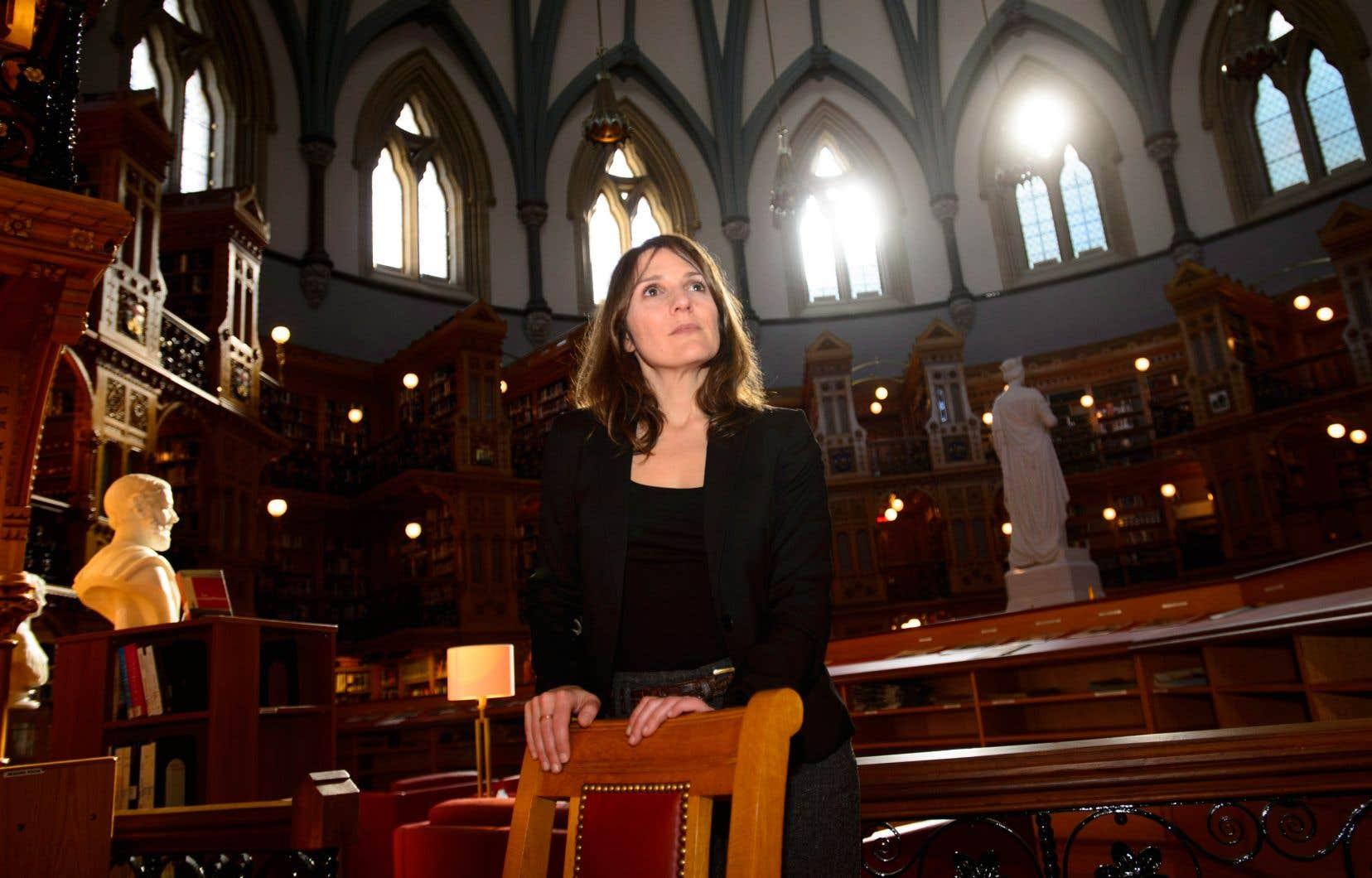 L'écrivaine canadienne Georgette LeBlanc a été nommée fin janvier au poste de poète officielle du Parlement du Canada.