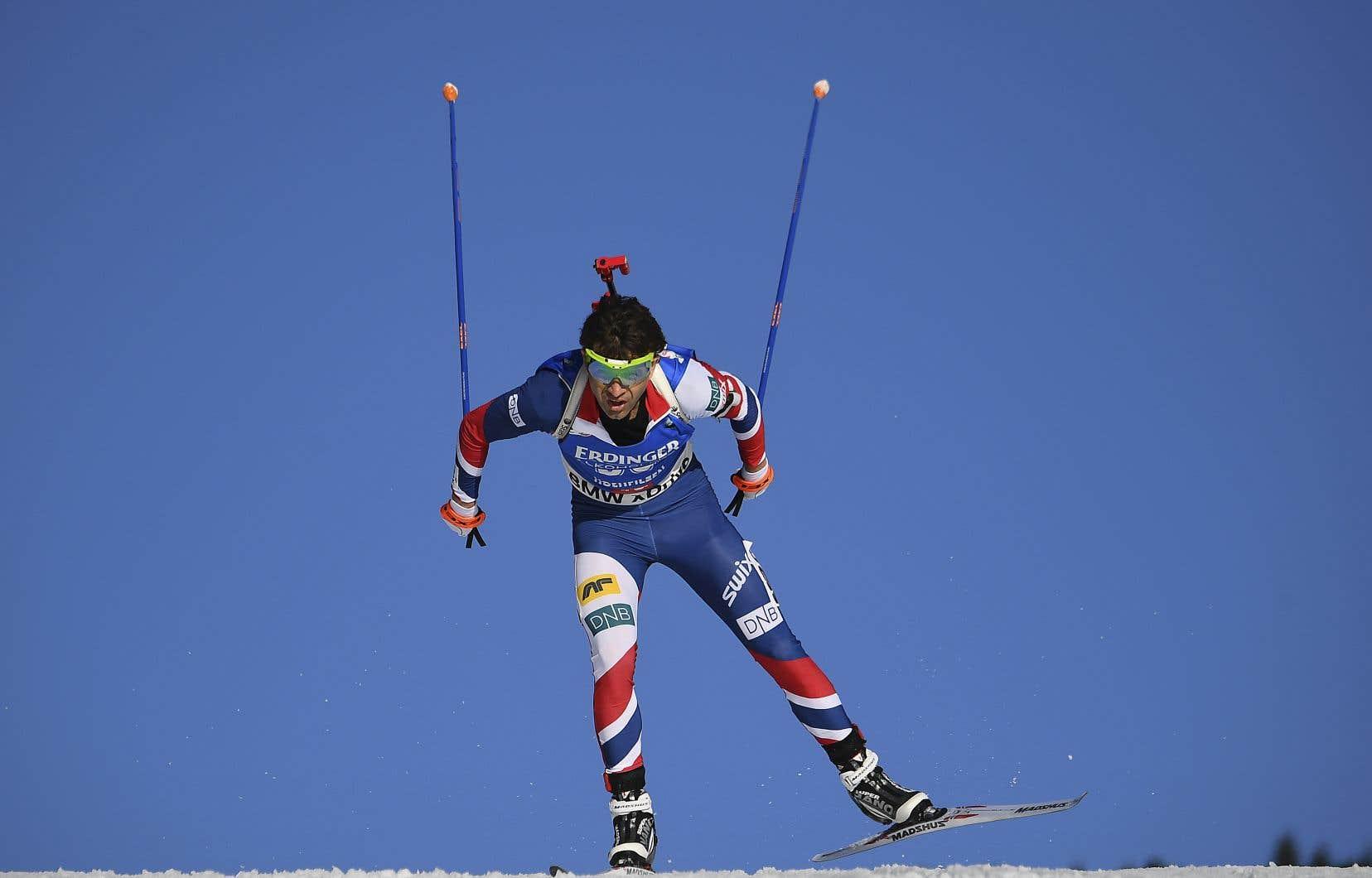 Ole Einar Bjoerndalen raccroche ses skis et sa carabine à l'âge de 44 ans.