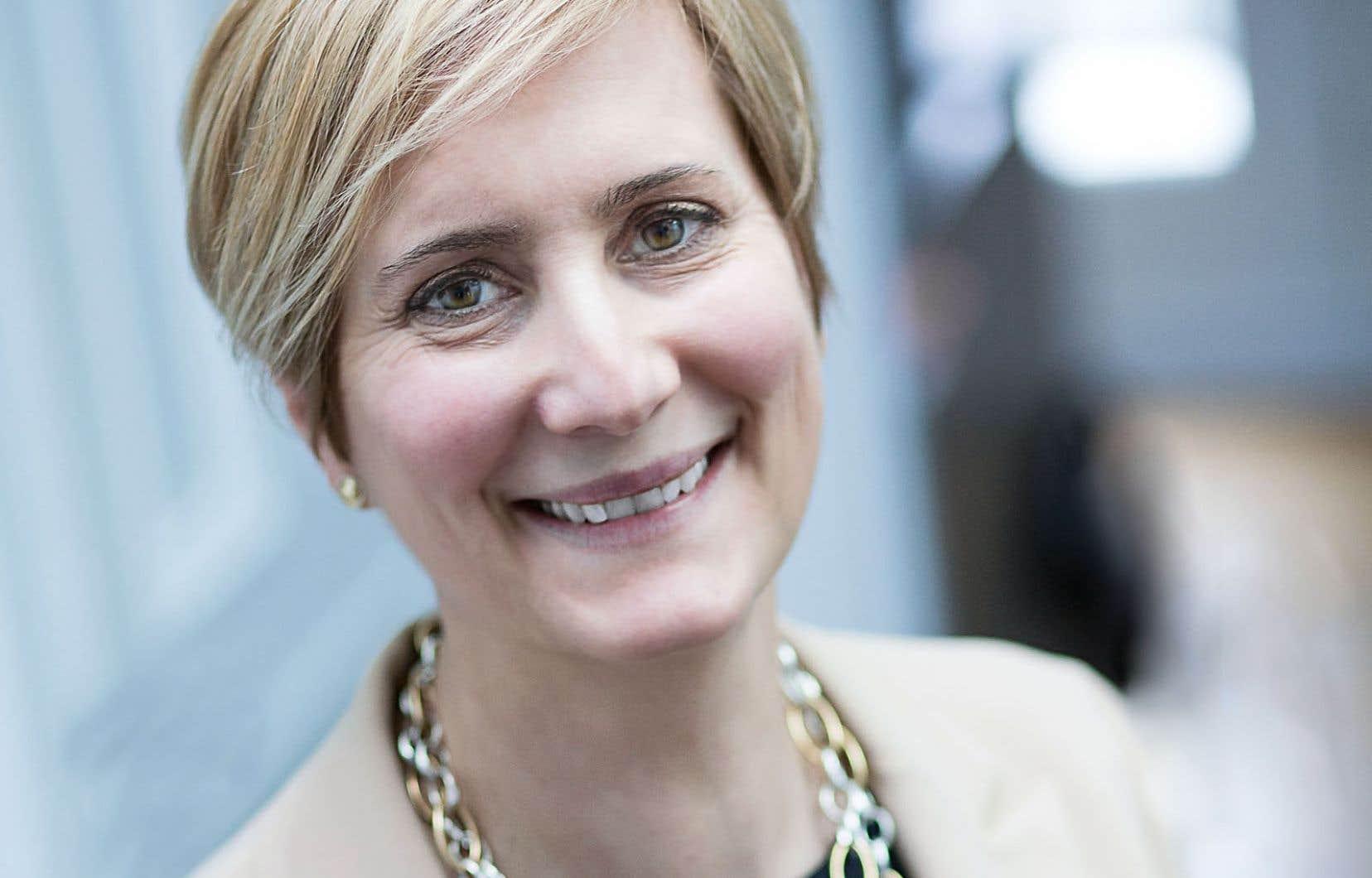 Lyne Sauvageau est la nouvelle présidente de l'Association francophone pour le savoir.