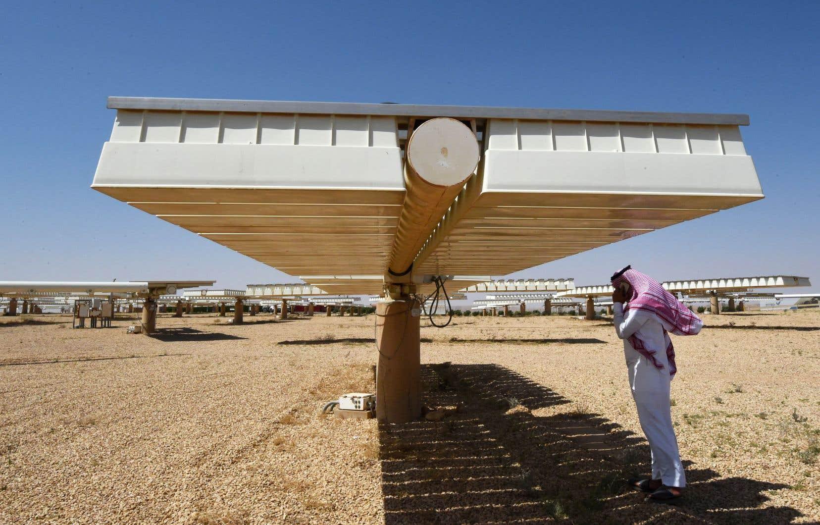 Le projet solaire vise à produire bien au-delà des besoins du royaume, soit 120 gigawatts d'ici 2032.