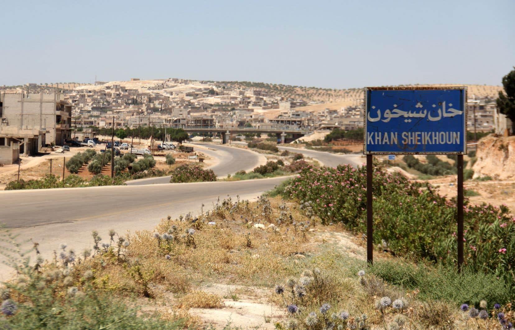 Le 4avril 2017, un raid aérien frappait Khan Cheikhoun, petite ville de la province d'Idleb, place forte des rebelles et des djihadistes dans le nord-ouest de la Syrie.