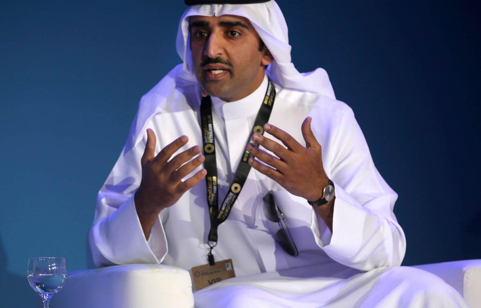 Le cheikh Mohammed ben Khalifa al-Khalifa