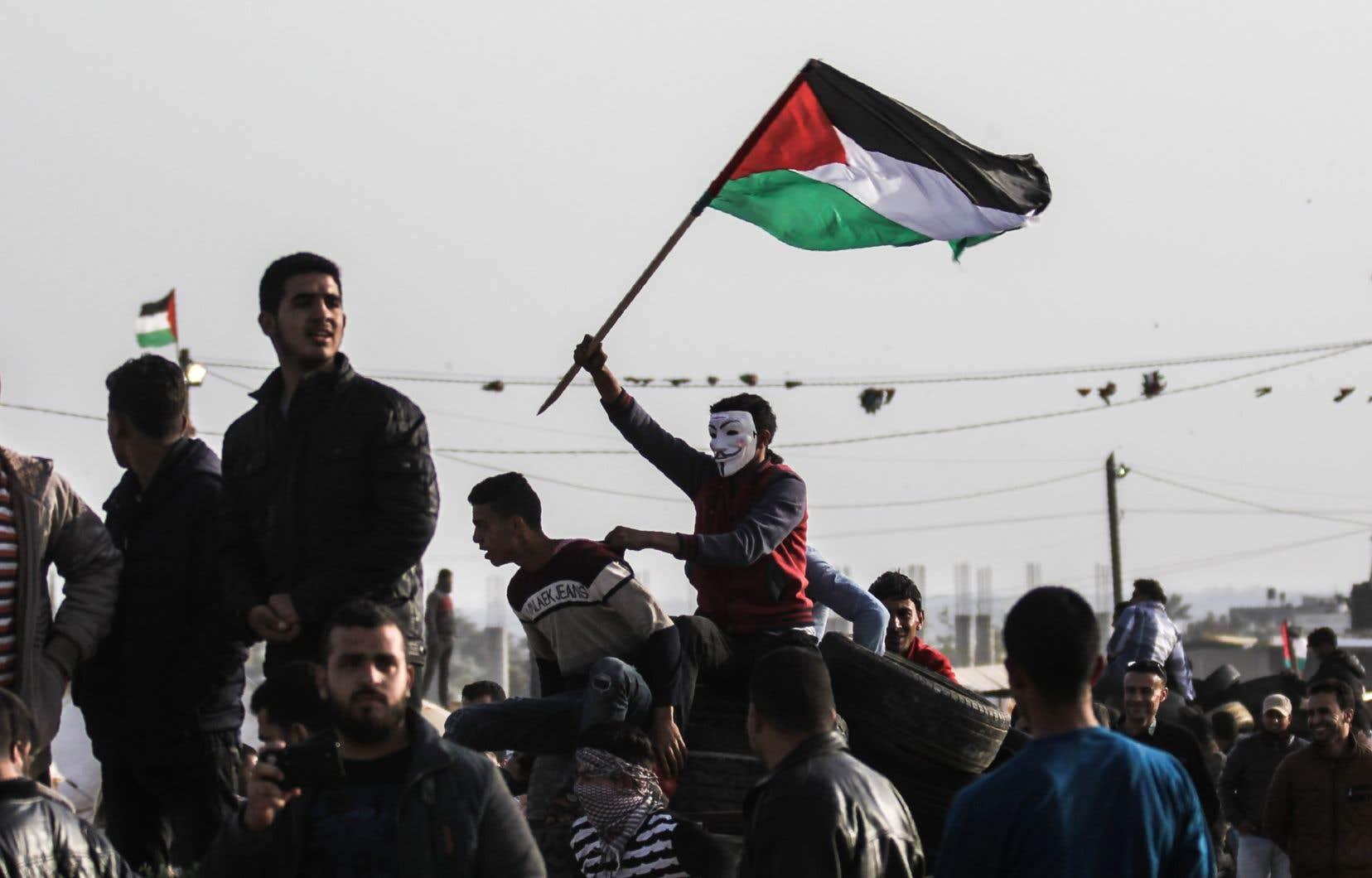 Les Palestiniens de Gaza se préparent de pied ferme aux manifestations à haut risque de vendredi prochain.