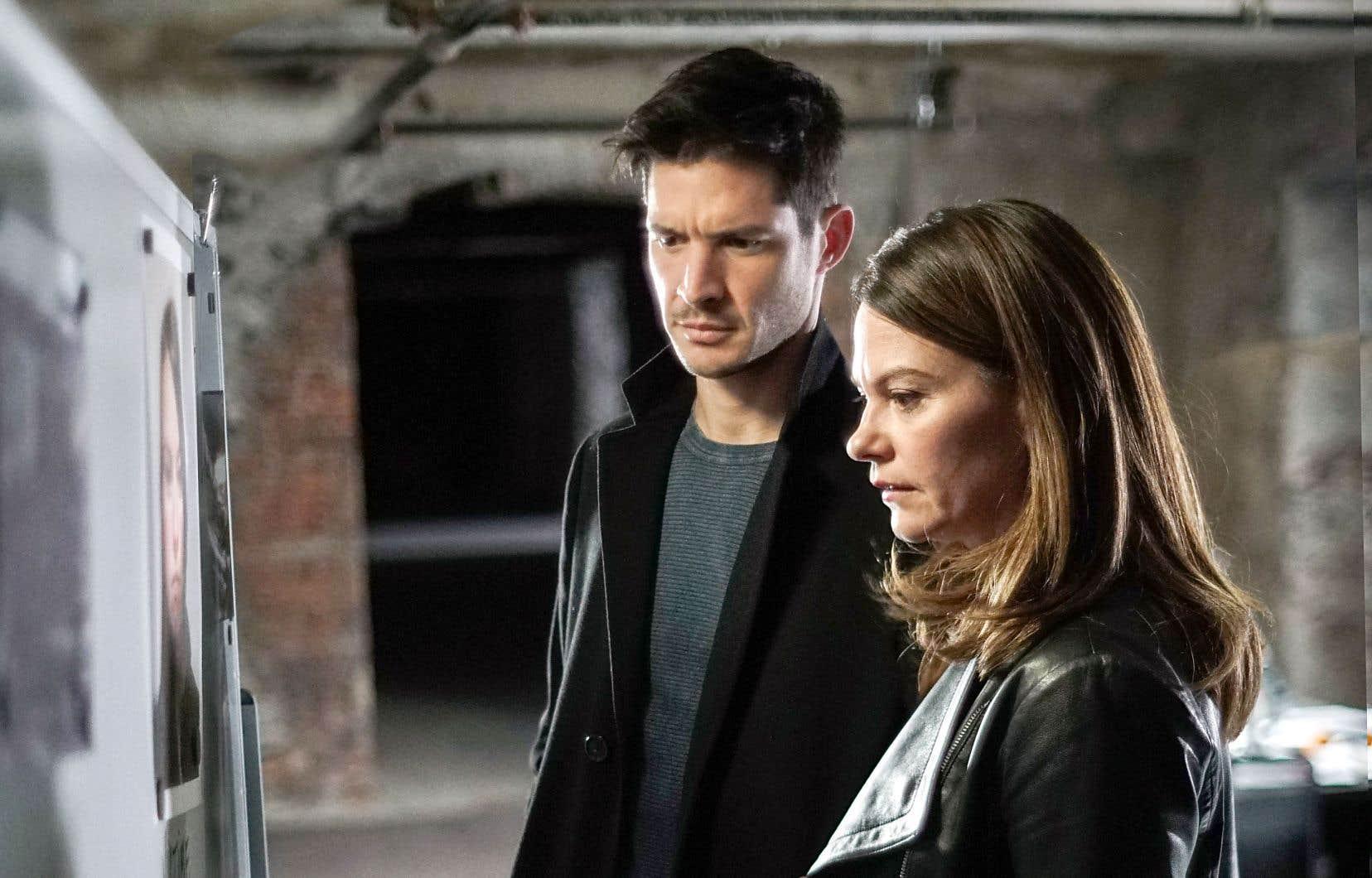 Fanny Mallette, Éric Bruneau et Gabriel Arcand sont de retour pour une quatrième saison de «Mensonges», reprise à la réalisation par Francis Leclerc.