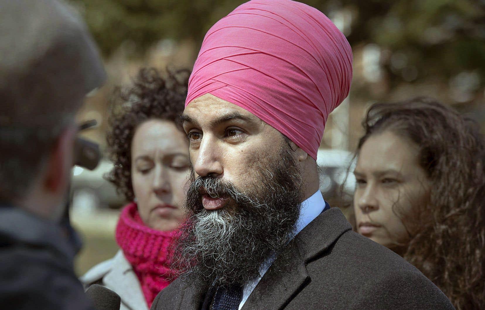 Le chef du Nouveau Parti démocratique, Jagmeet Singh, a raconté qu'il avait été retenu sans motifs à plusieurs reprises par les policiers lorsqu'il était plus jeune.