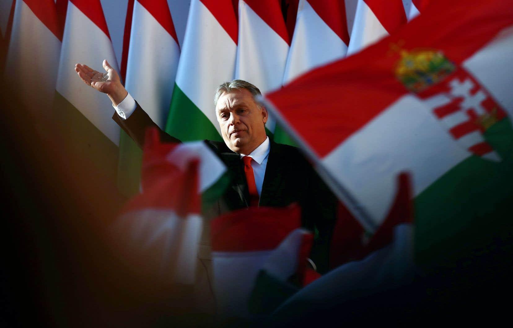 Le premier ministre Viktor Orbán a prononcé son dernier discours de la campagne électorale à Székesfehérvár, vendredi.