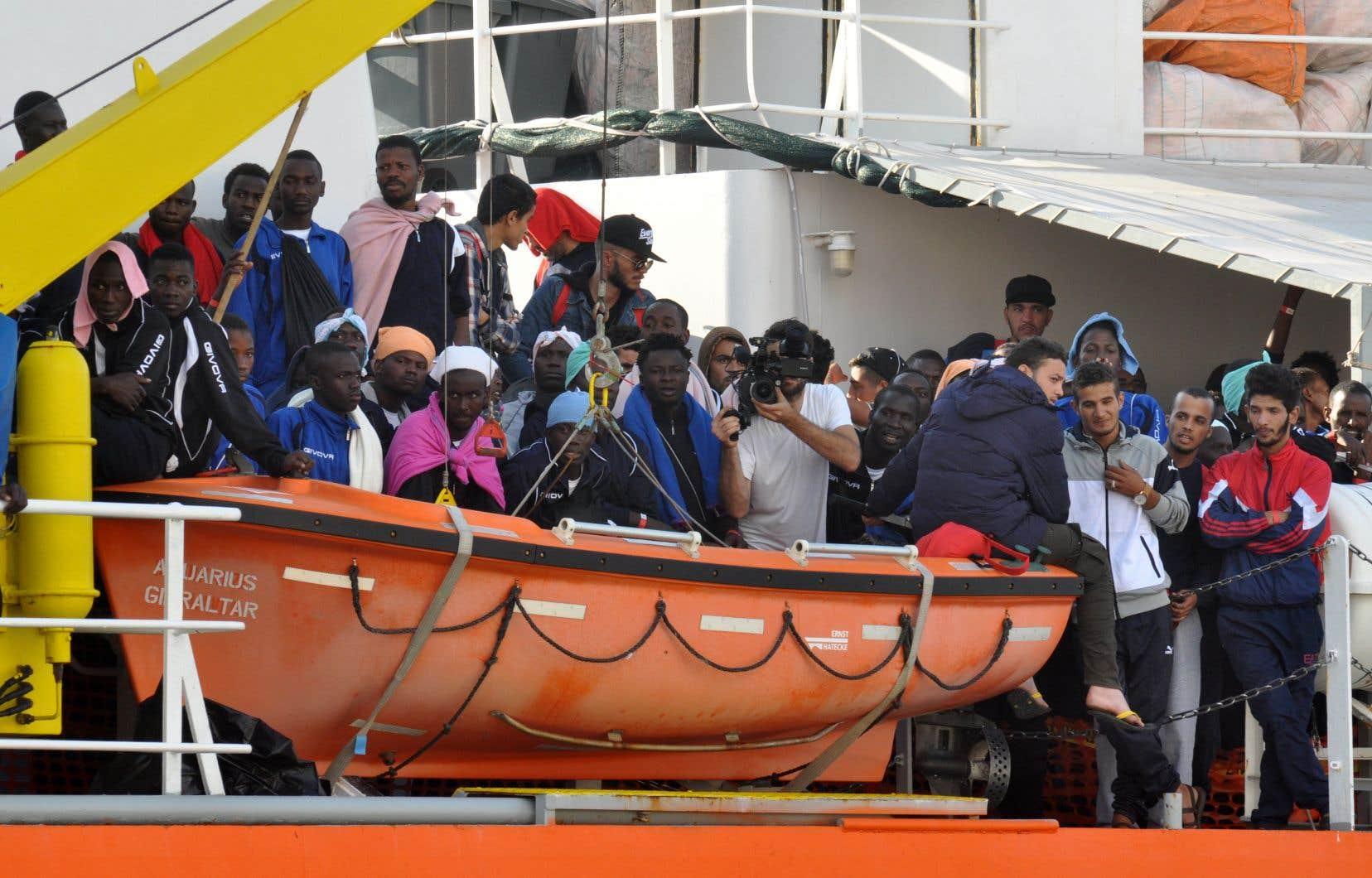 Les pays européens ont puisé dans l'aide au développement pour faire face à l'arrivée de migrants, dépensant sur leur territoire des sommes qui avaient été allouées, en principe, aux pays en développement.