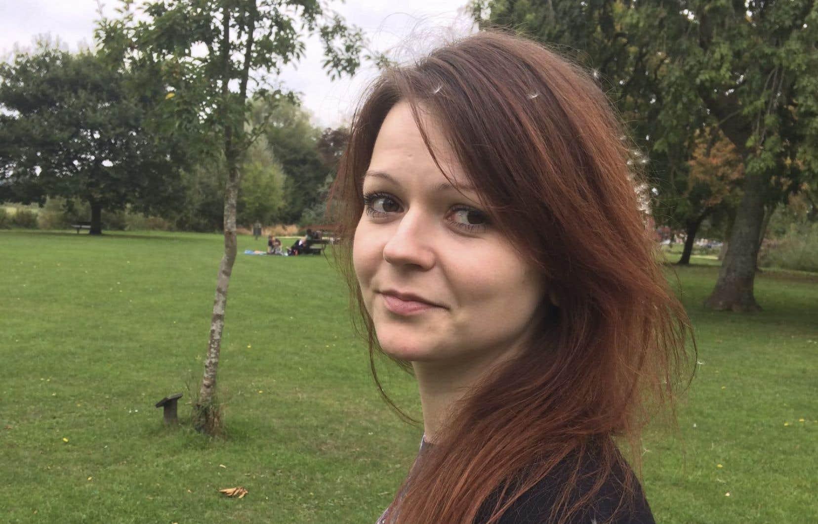 Ioulia Skripal a quitté l'hôpital où elle était soignée depuis son empoisonnement par un agent neurotoxique avec son père.