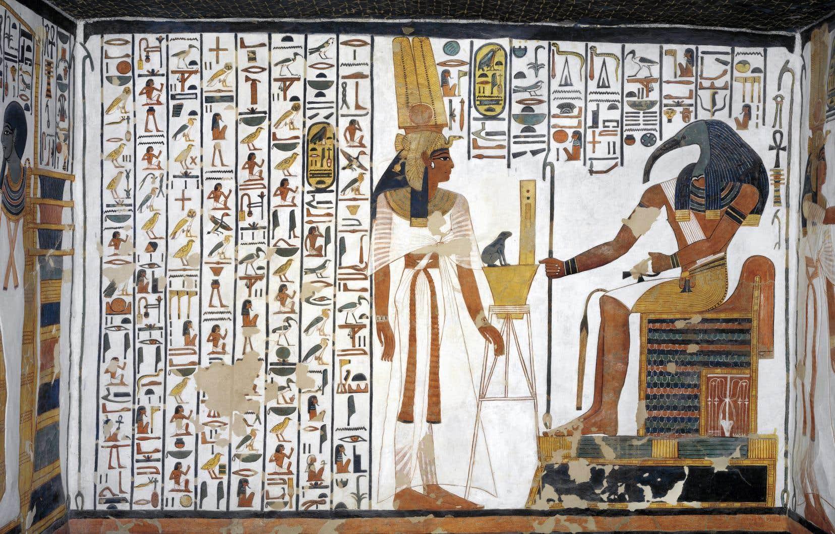 Dans Les Tombeaux De L égypte Antique Au Musée Pointe à