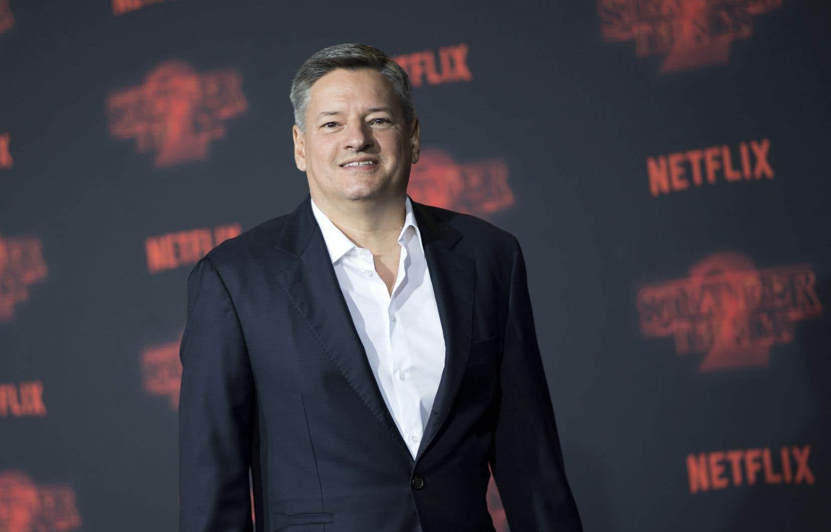 Le directeur des contenus de Netflix, Ted Sarandos