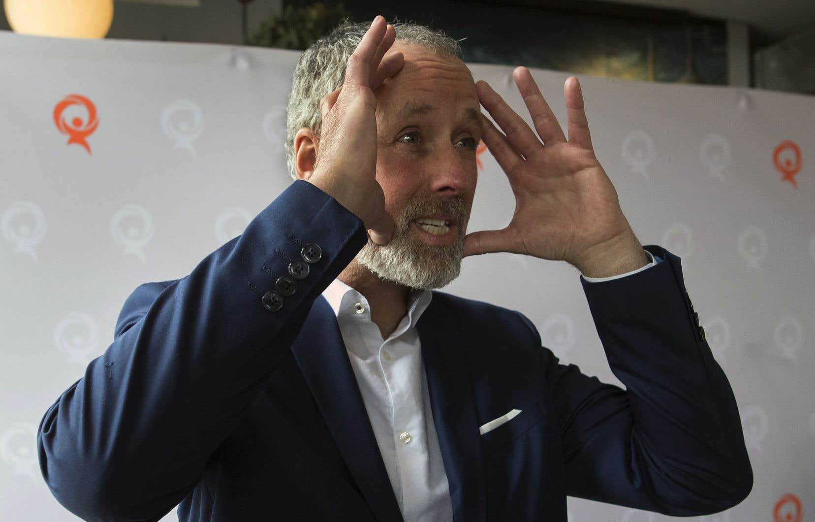 À sa toute première conférence de presse après s'être joint à Québec solidaire, l'ex-chroniqueur Vincent Marissal avait nié avoir «magasiné» auprès d'autres partis politiques, notamment le Parti libéral du Canada.