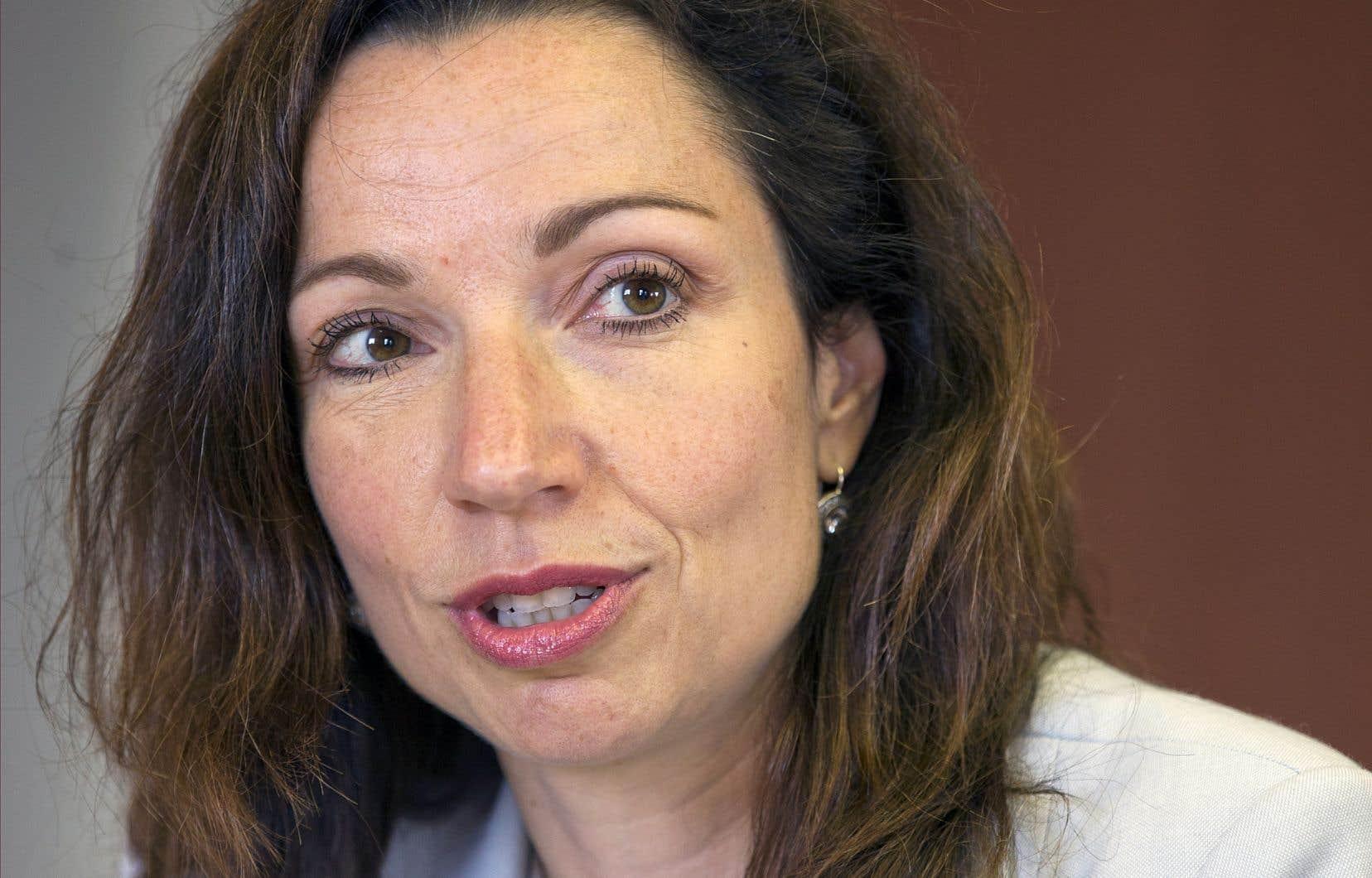 La chef du Bloc québécois, Martine Ouellet, s'est défendue de passer au crible les interventions médiatiques la concernant.