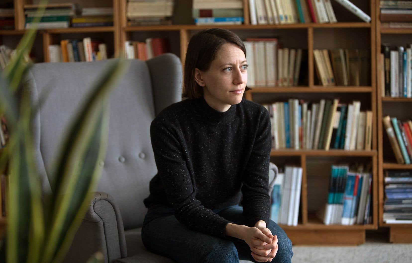 L'auteure Julia Posca