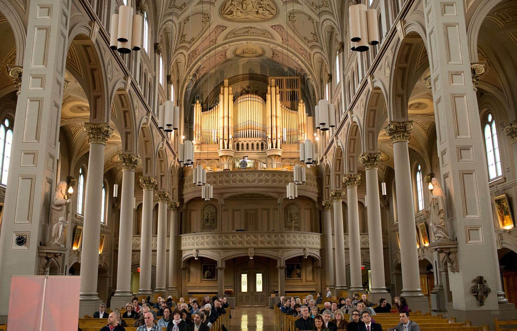 Une large portion du patrimoine artistique et architectural québécois est issue de l'Église catholique.