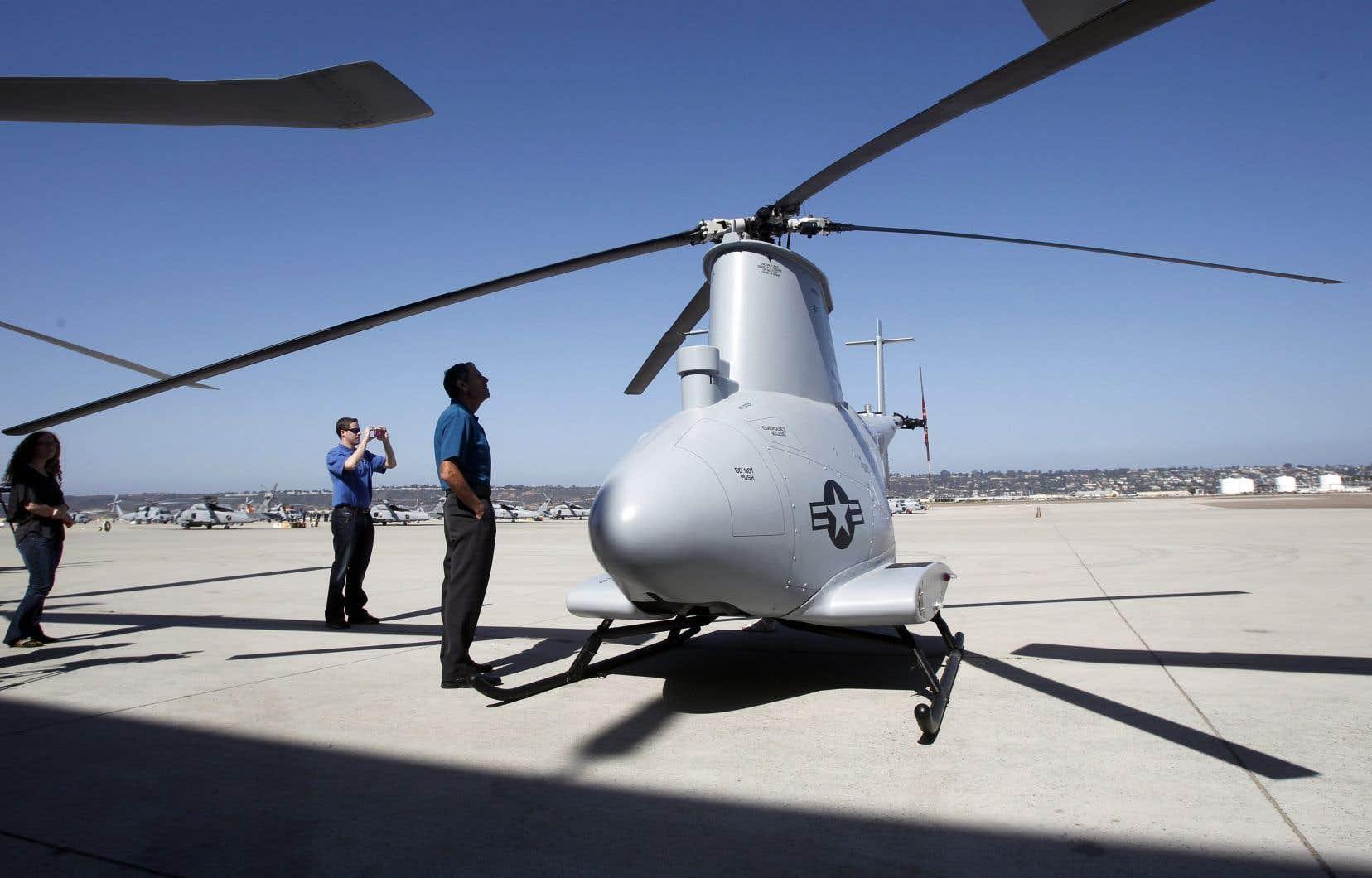 Un drone de l'armée américaine, qui pourrait être armé. Définir les «robots tueurs» est délicat. Ainsi, la France a décidé que les drones n'entraient pas dans la catégorie des robots, souligne l'auteur.